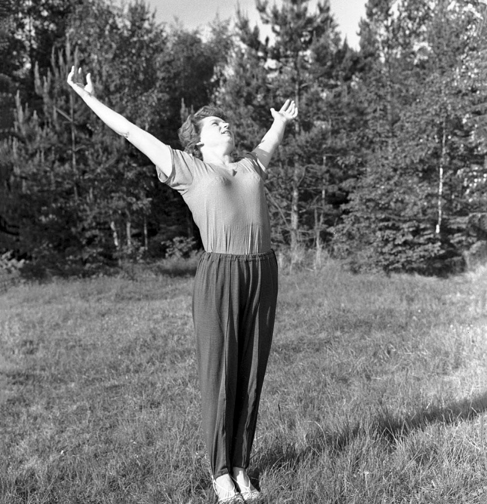 Валентина Терешкова — первая женщина-космонавт