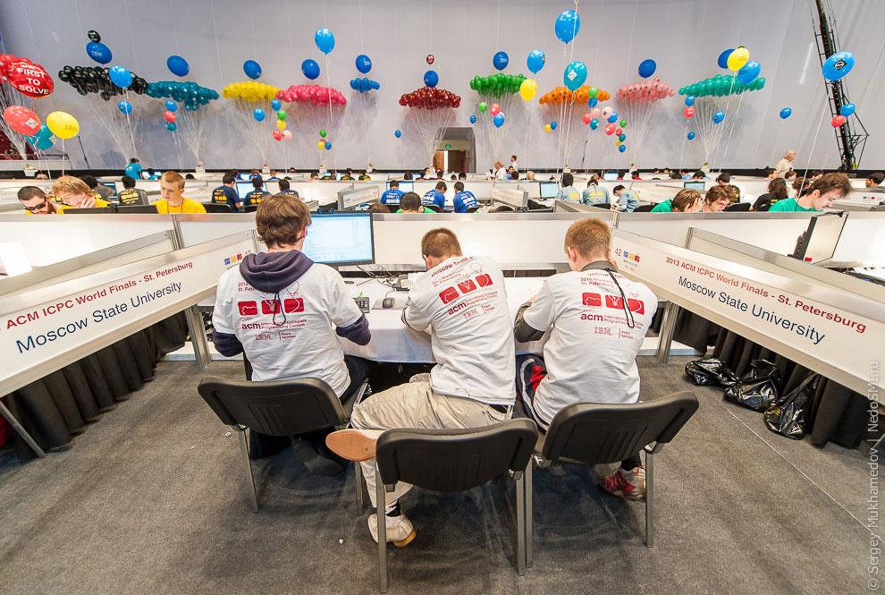 Финал международного командного чемпионата мира по программированию ACM ICPC