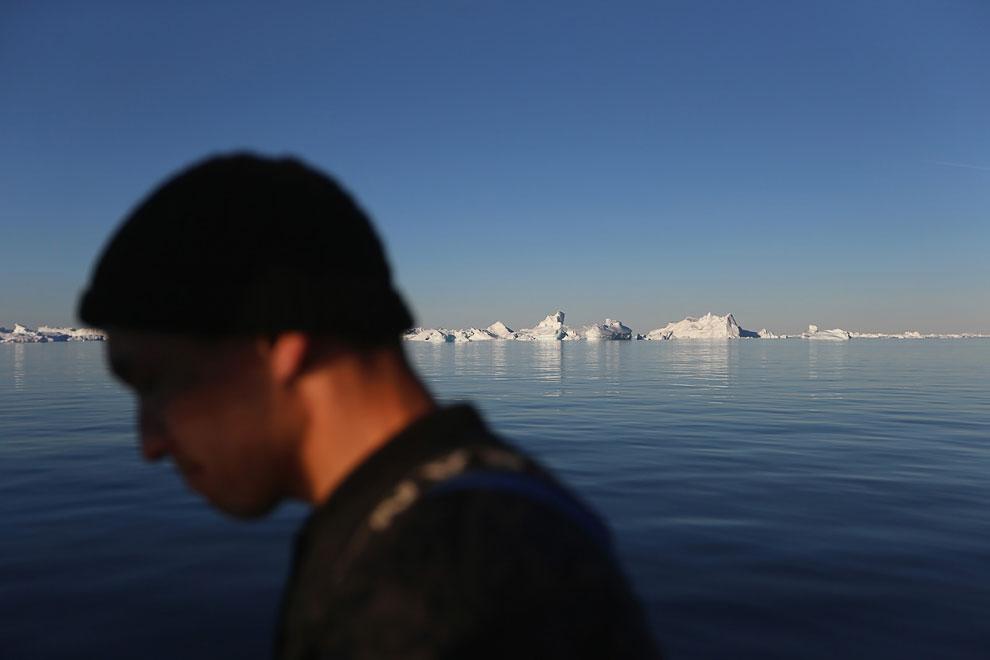Основные народы на территории Гренландии — это гренландские эскимосы