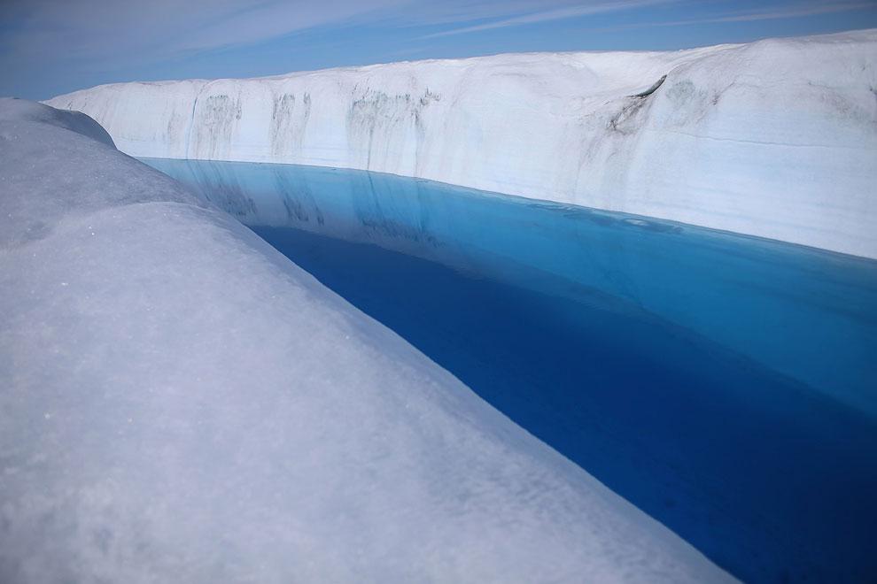 Невероятные пейзажи острова Гренландия