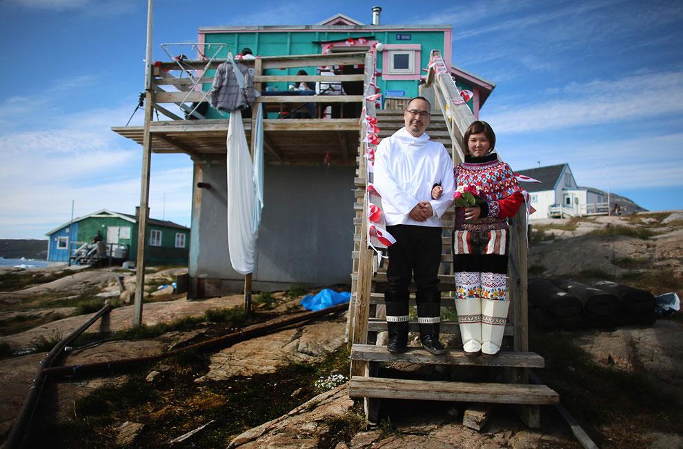Давайте посмотрим, как проходят свадьбы на острове Гренландия