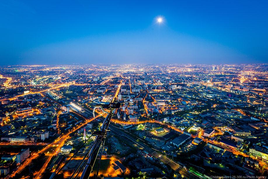 Вид в центр Москвы
