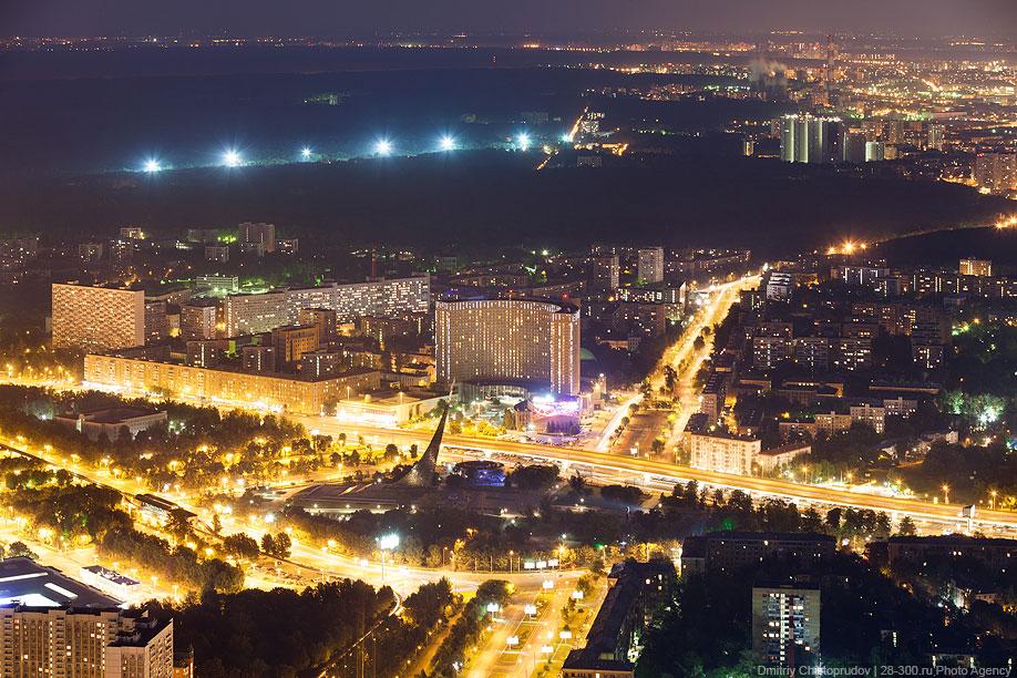 ВДНХ, Гостиница «Космос» и Космопарк