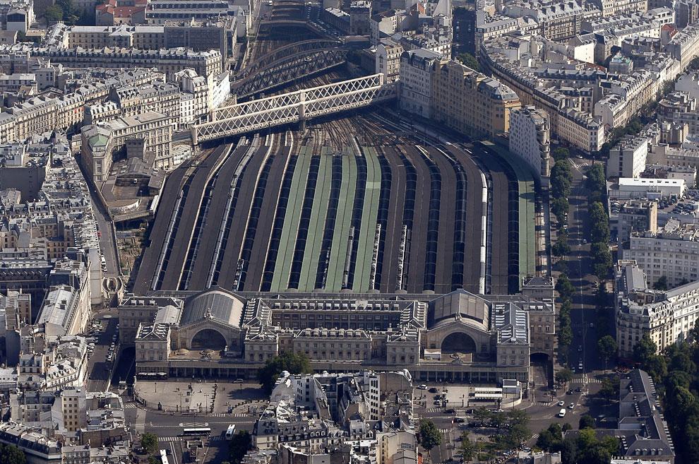 Восточный вокзал — один из семи парижских вокзалов