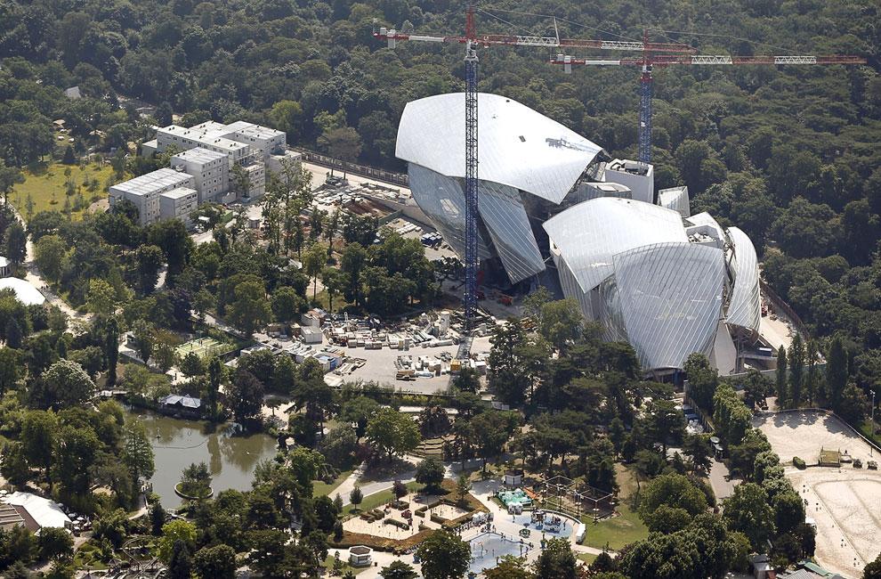 Центр Современного Искусства (Louis Vuitton Foundation for Creation)