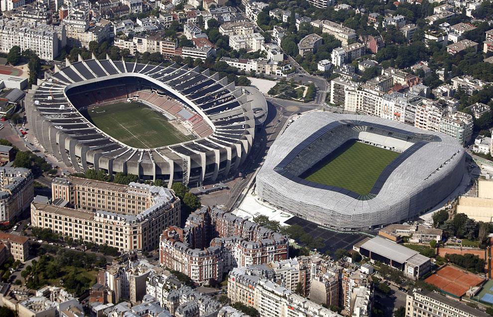 «Парк де Пренс» — футбольный стадион в Париже