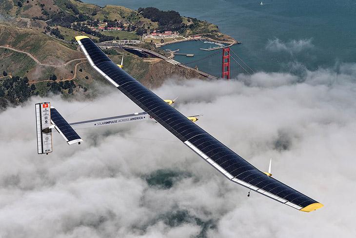 Будущее авиации: «Солнечный импульс»