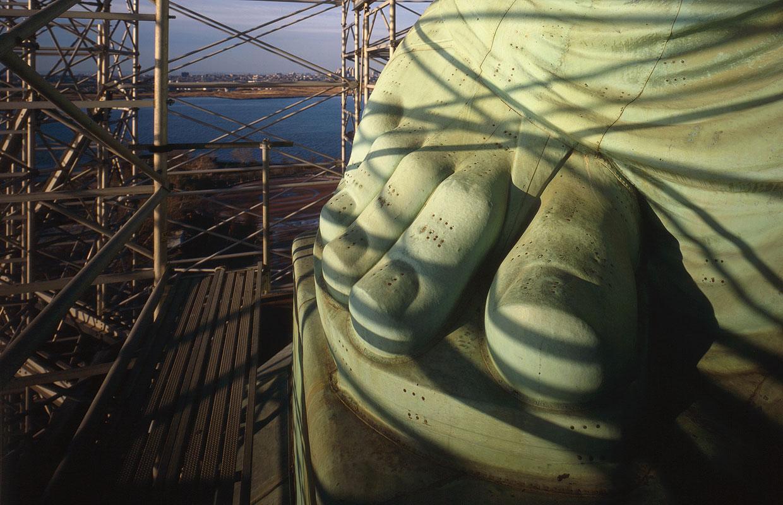 Реставрация статуи Свободы