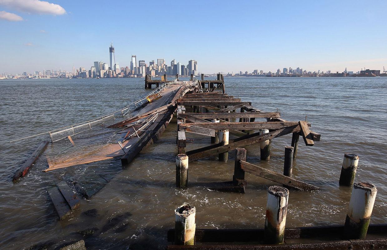 В октябре 2012 года атлантический ураган Сэнди совершил разрушительное шествие по североамериканскому континенту