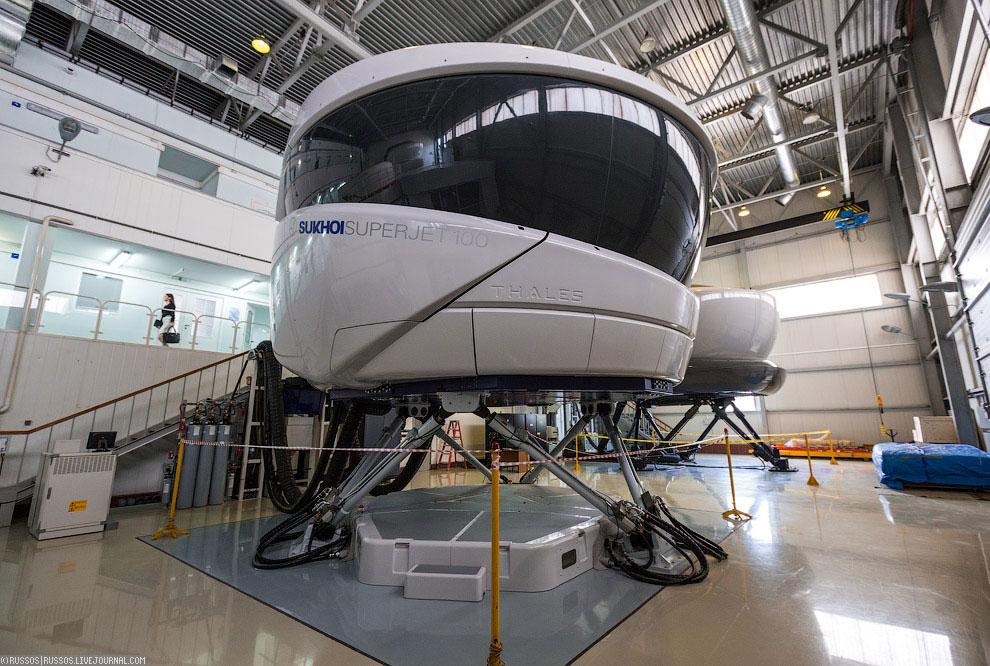 Тренажерный центр Аэрофлота