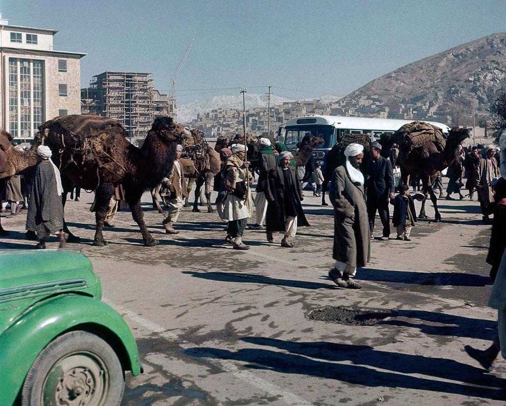 На улицах Кабула, Афганистан
