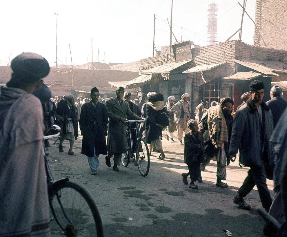 Улицы Кабул в ноябре 1966 года