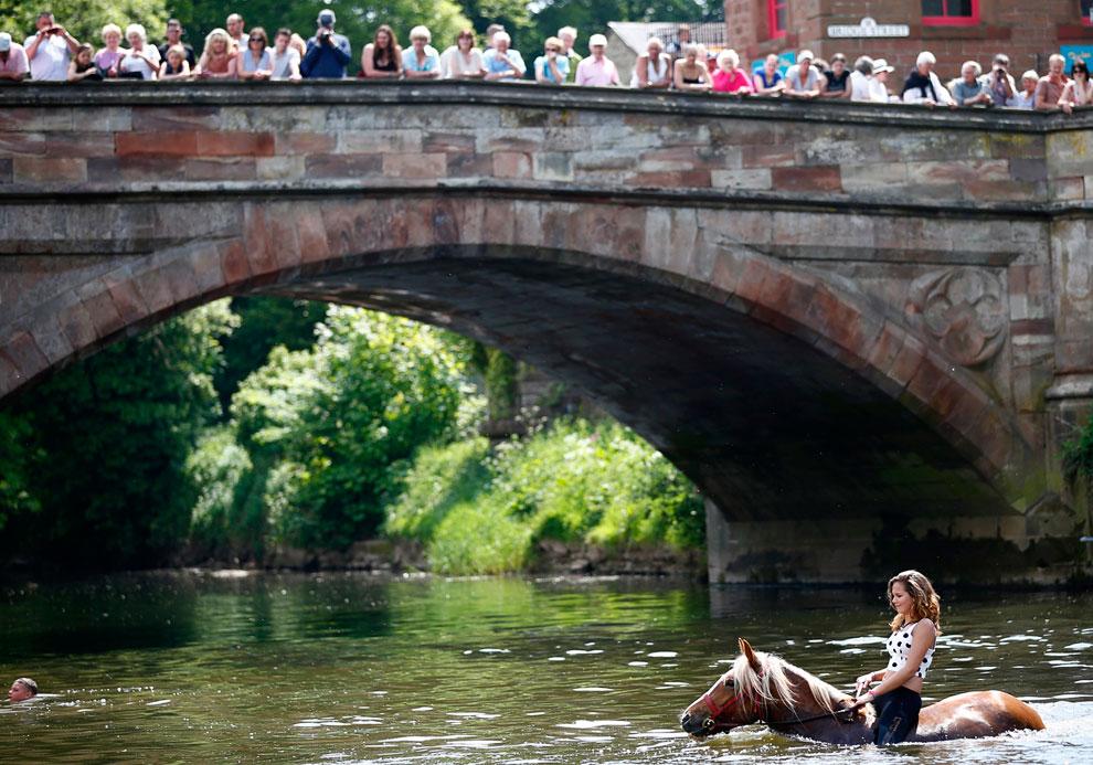 В английском графстве Уэстморленд с 1600-х годов проводится ярмарка лошадей