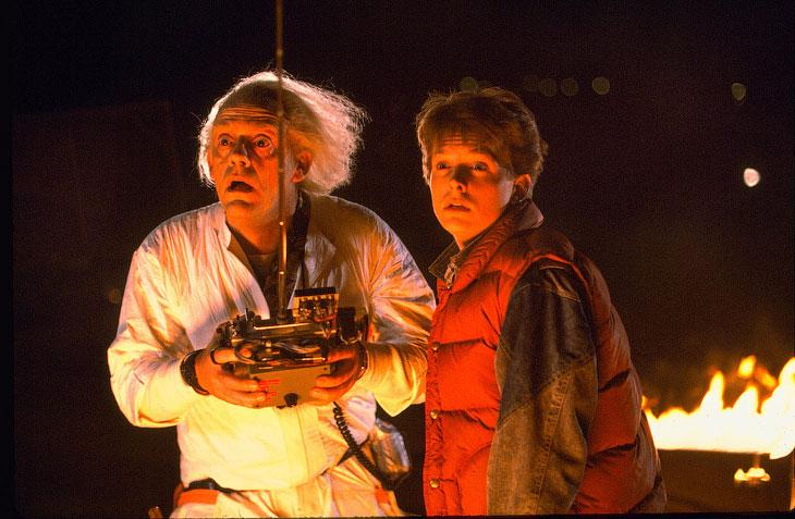 Как делали спецэффекты в трилогии «Назад в будущее»