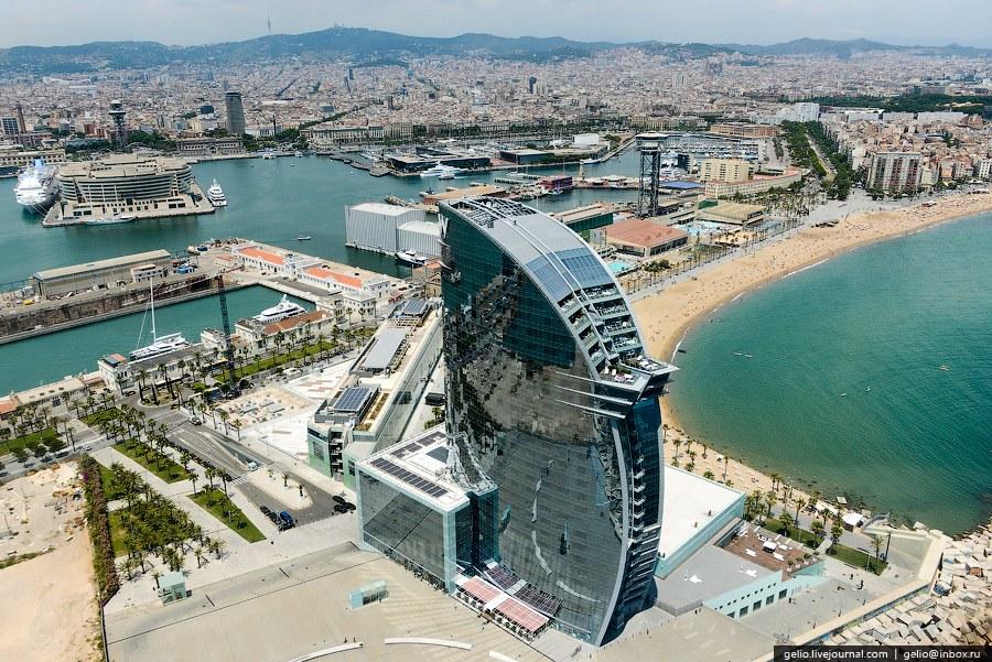 Отель «W Barcelona»