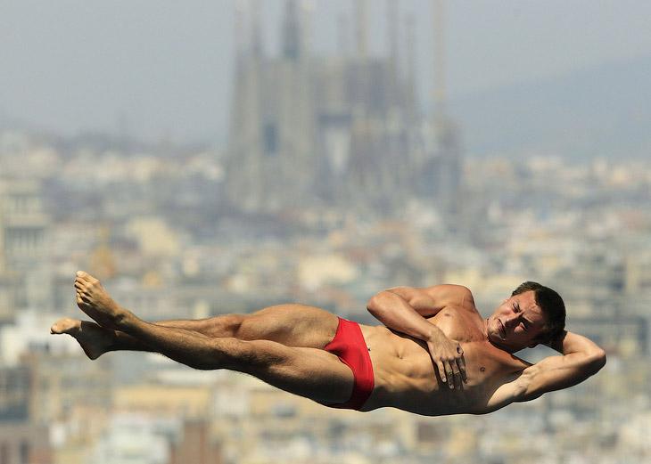 Украинец Александр Бондарь занял седьмое место в прыжках с вышки