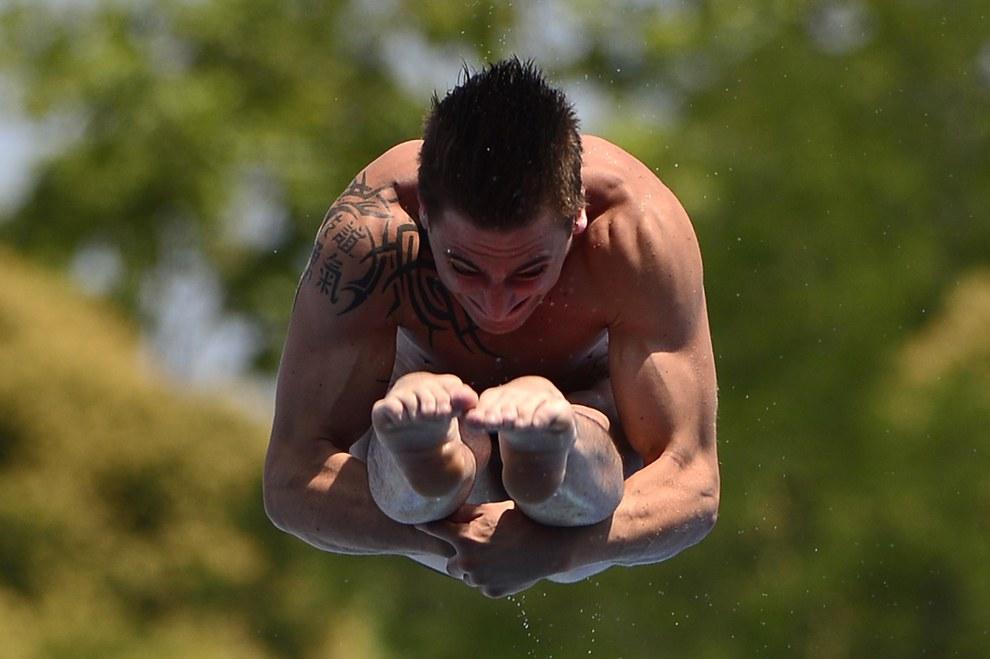 Соревнования по прыжкам с 1-метрового трамплина