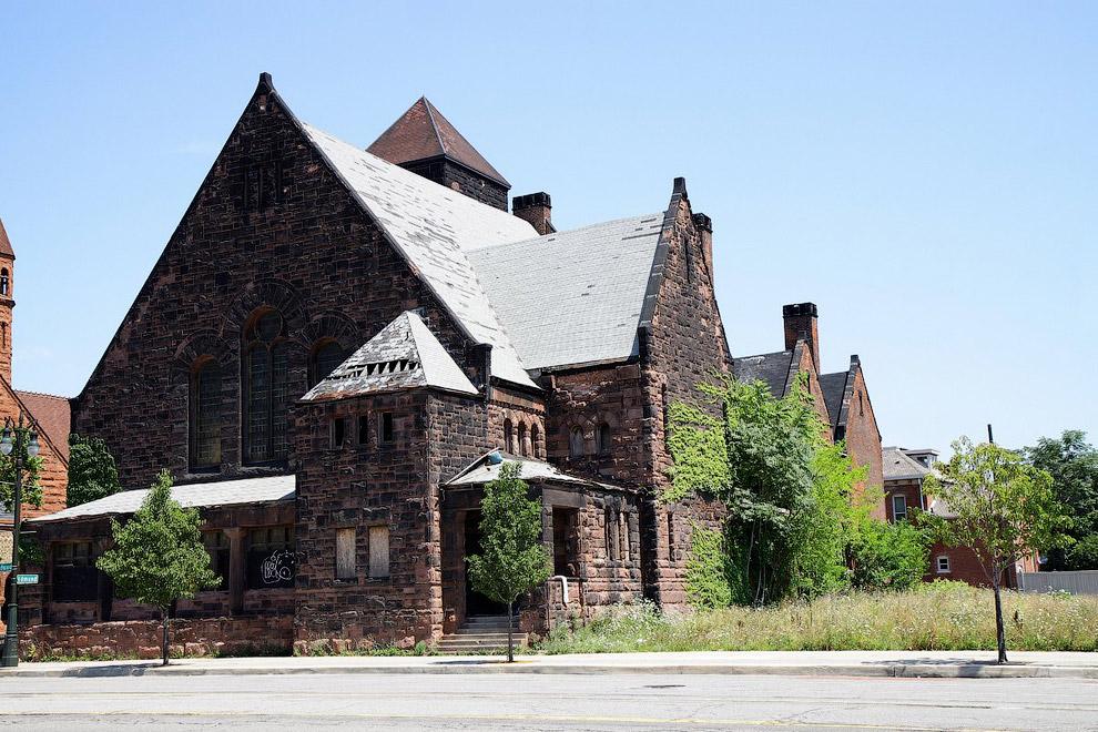 Заброшенная церковь, Детройт