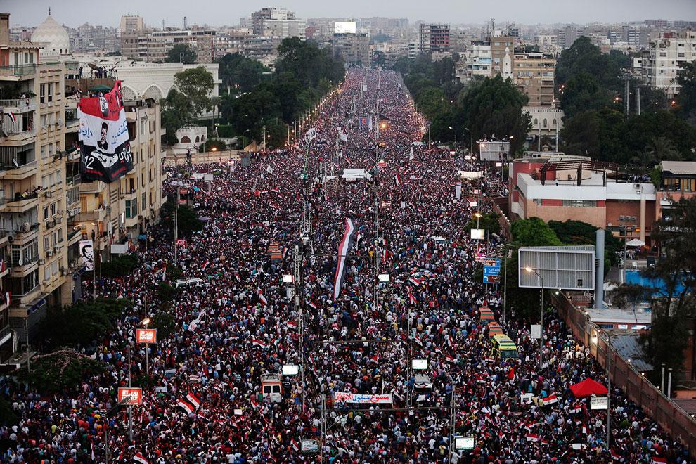 Спустя 2.5 года на улицах Египта снова миллионы протестующих, и снова они требуют отставки президента. Ничего не меняется