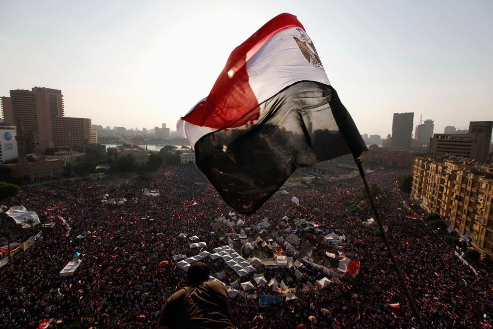 Всего в демонстрациях приняло участие более 17 миллионов человек, только в Каире на улицы вышли свыше 4 млн протестующих