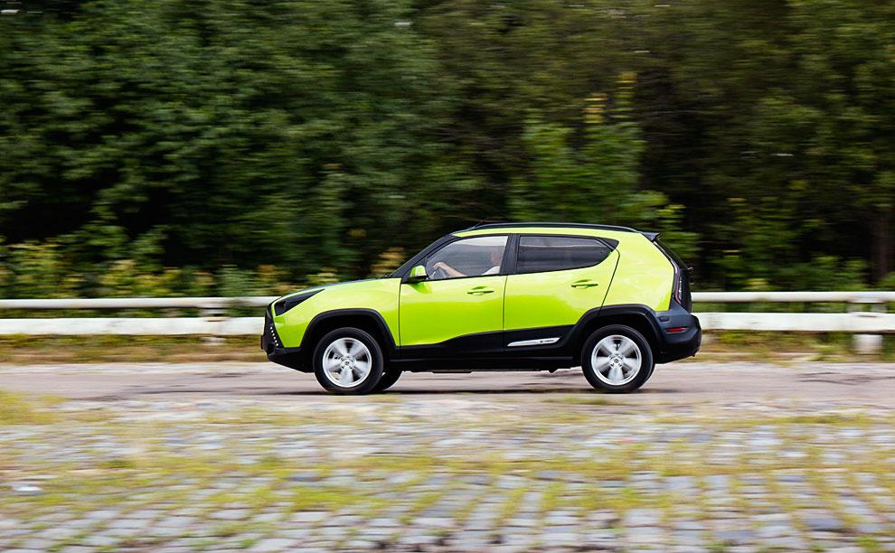 Конструкторы заявляют, что в спринте до 100 км/ч автомобиль выезжает из 10 секунд