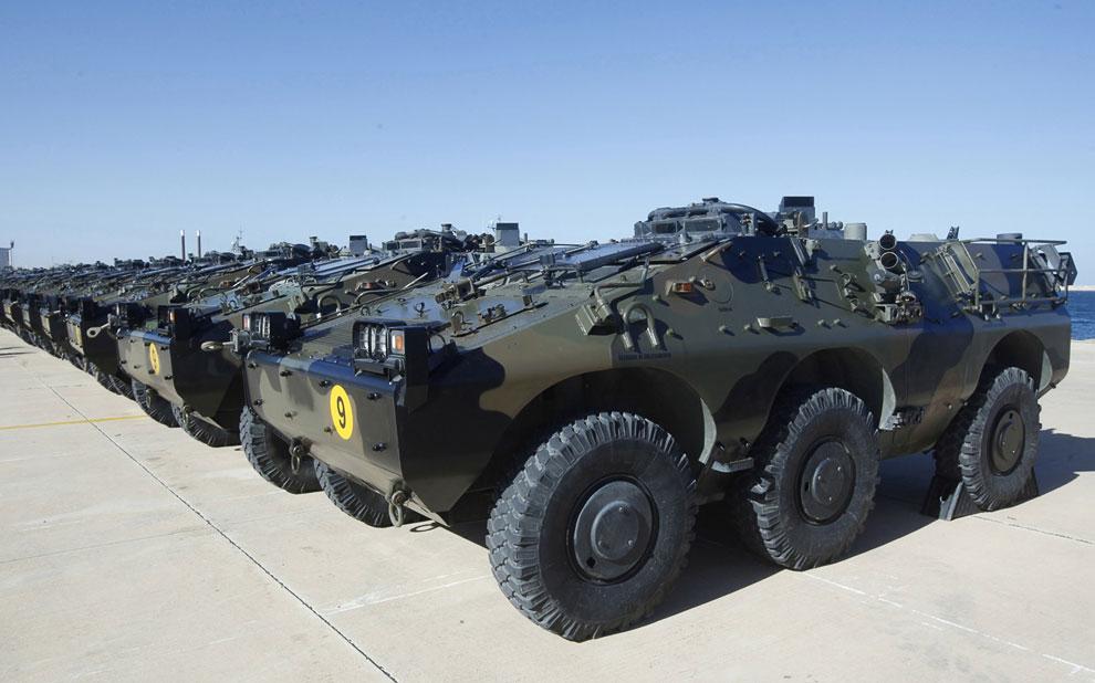 Подарок для ливийской армии – легкие бронетранспортёры Puma итальянского производства