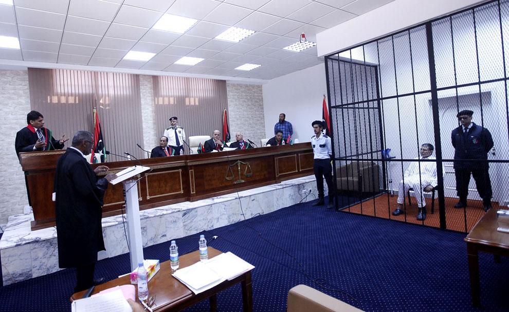 В суде бывший начальник местной разведки Ливии Бузаид Дорда, Триполи