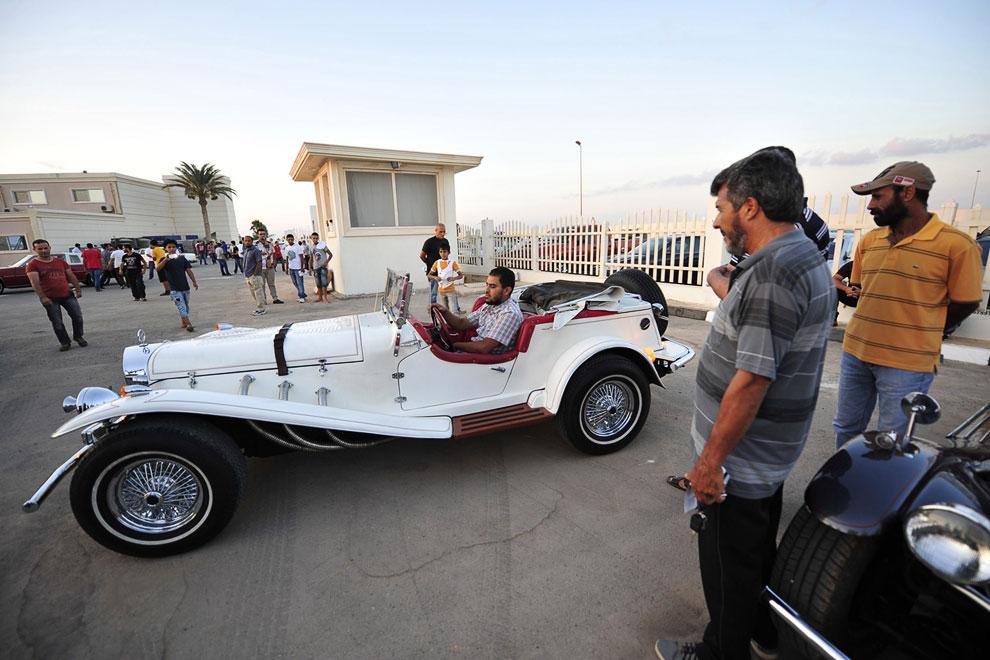Выставка-салон старых автомобилей, Бенгази