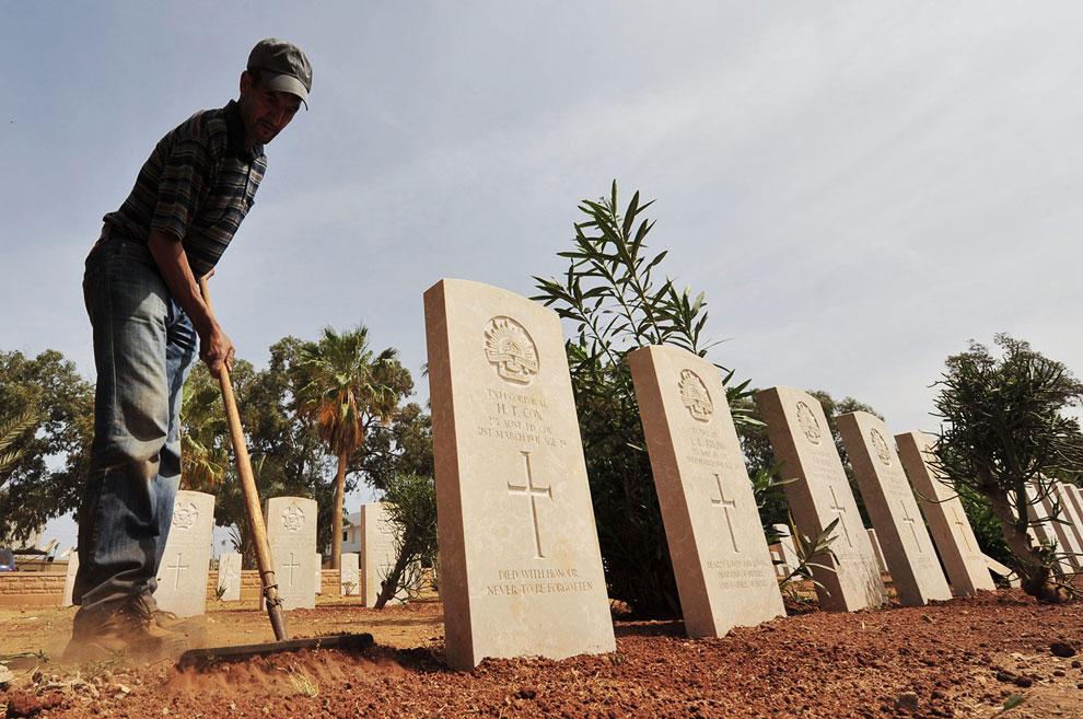 Бенгази, военное кладбище