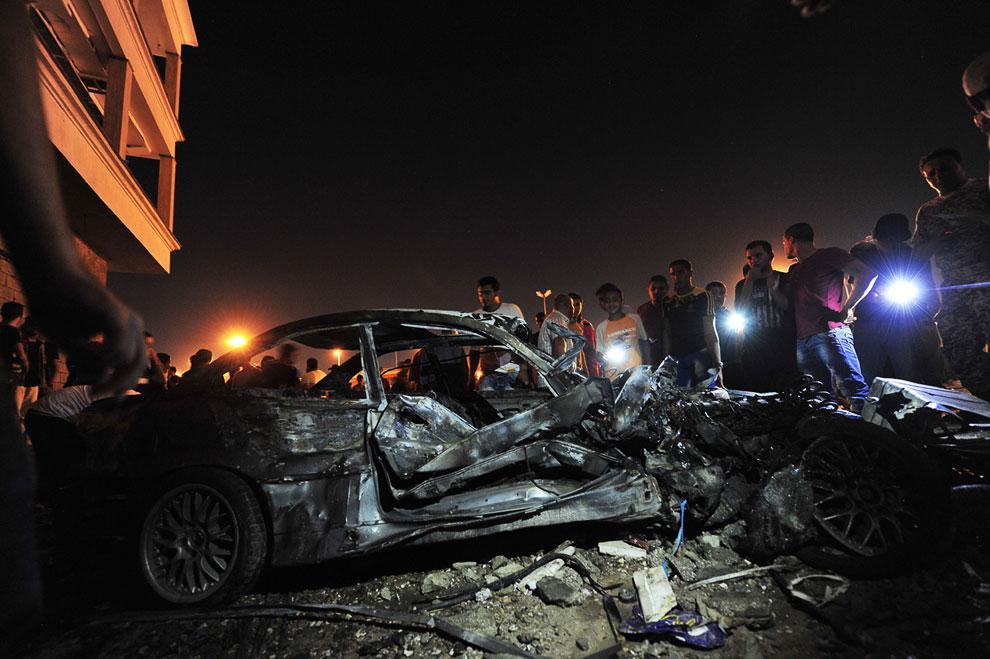 Случаются, что на ливийских улицах взрывают начиненные взрывчаткой автомобили