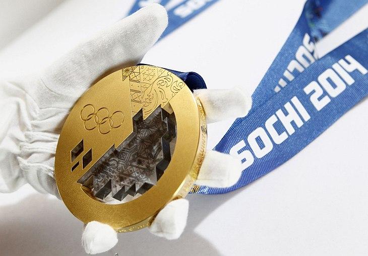 Как изготавливают олимпийские медали для Олимпиады-2014