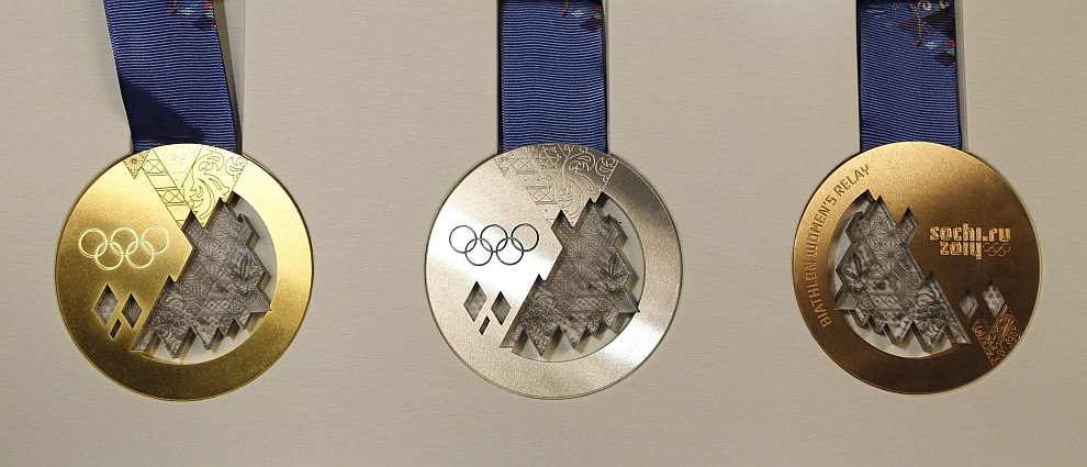 Медали Олимпиады-2014