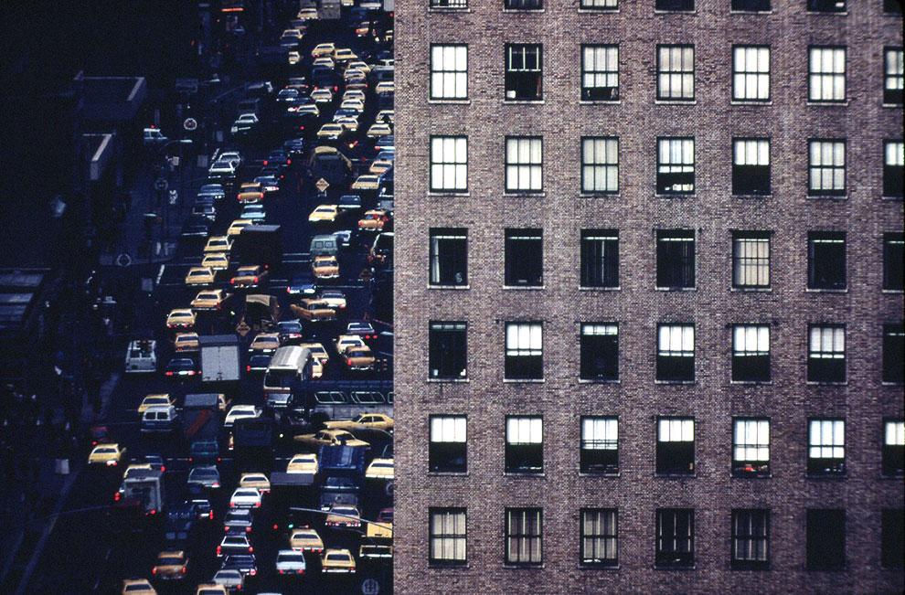 Пробки на 6-й авеню, апрель 1973 года