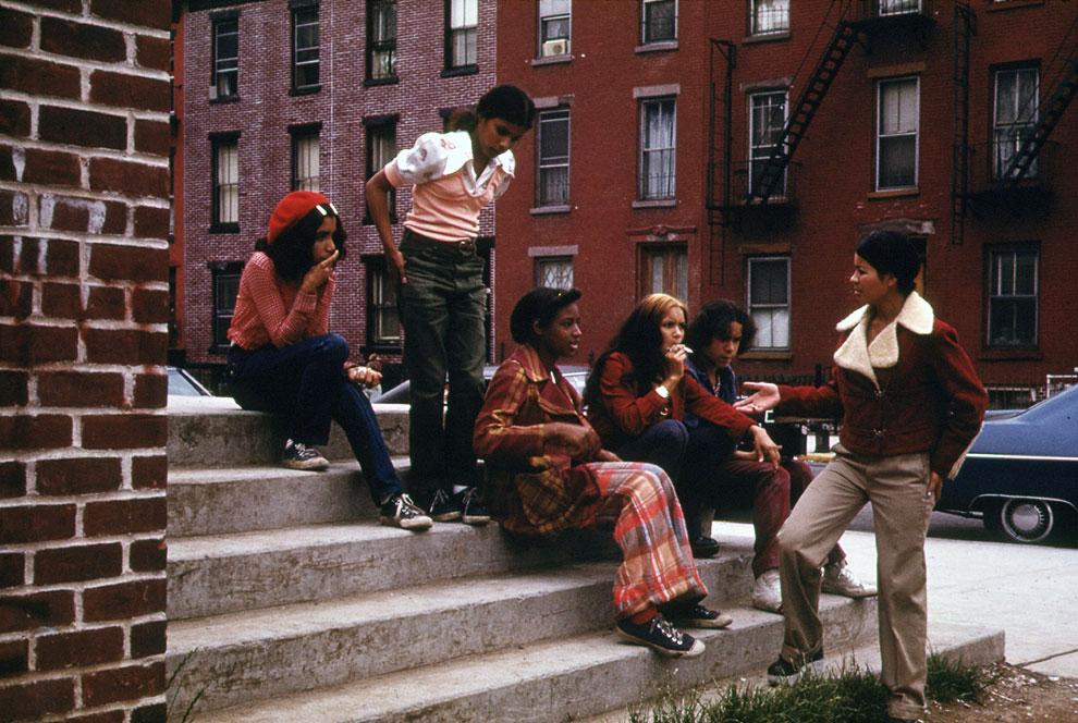 Молодежь в Бруклине