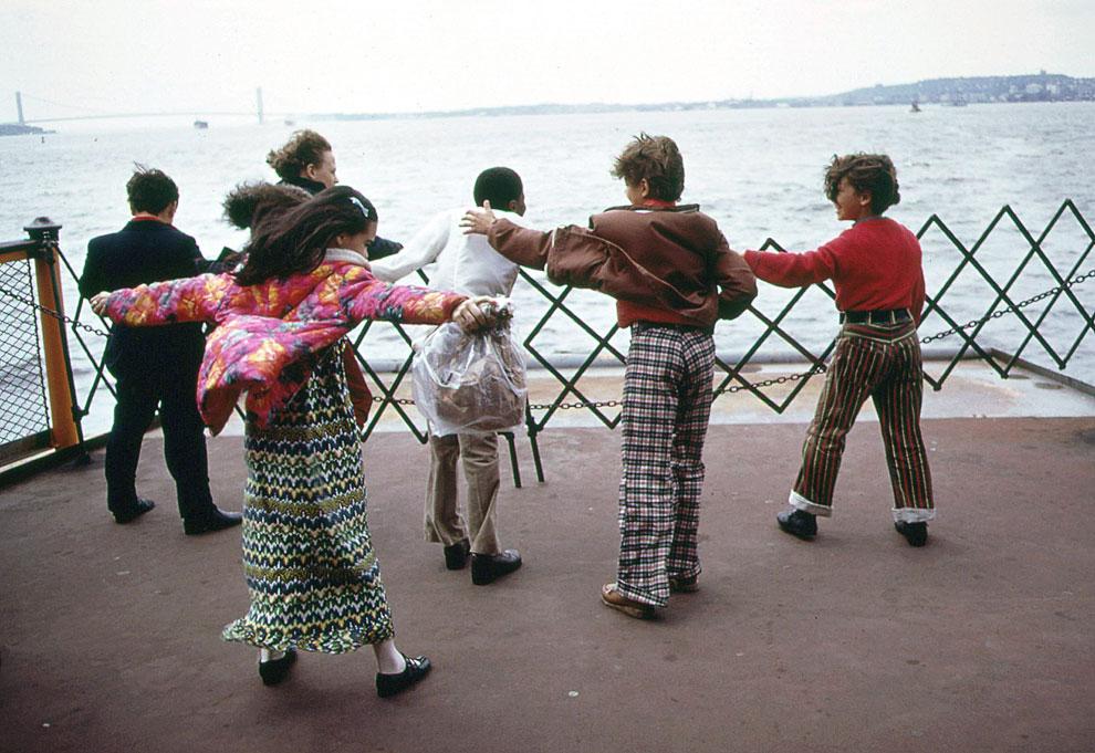 Игры с ветром во время школьной экскурсии. Нью-Йорк, 1973 год