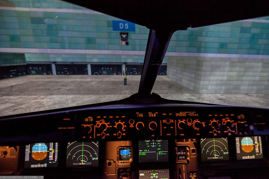 Как учатся на пилотов больших самолетов