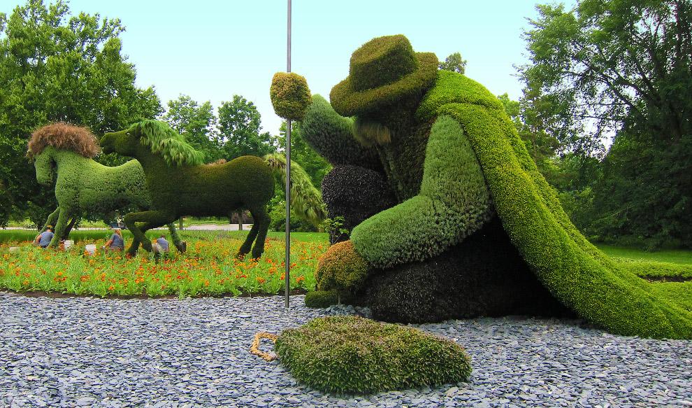 Человек, сажающий деревья