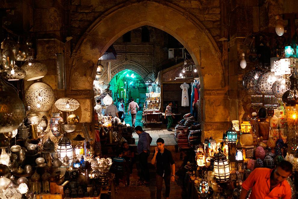 Рынок в Египте накануне Рамадана