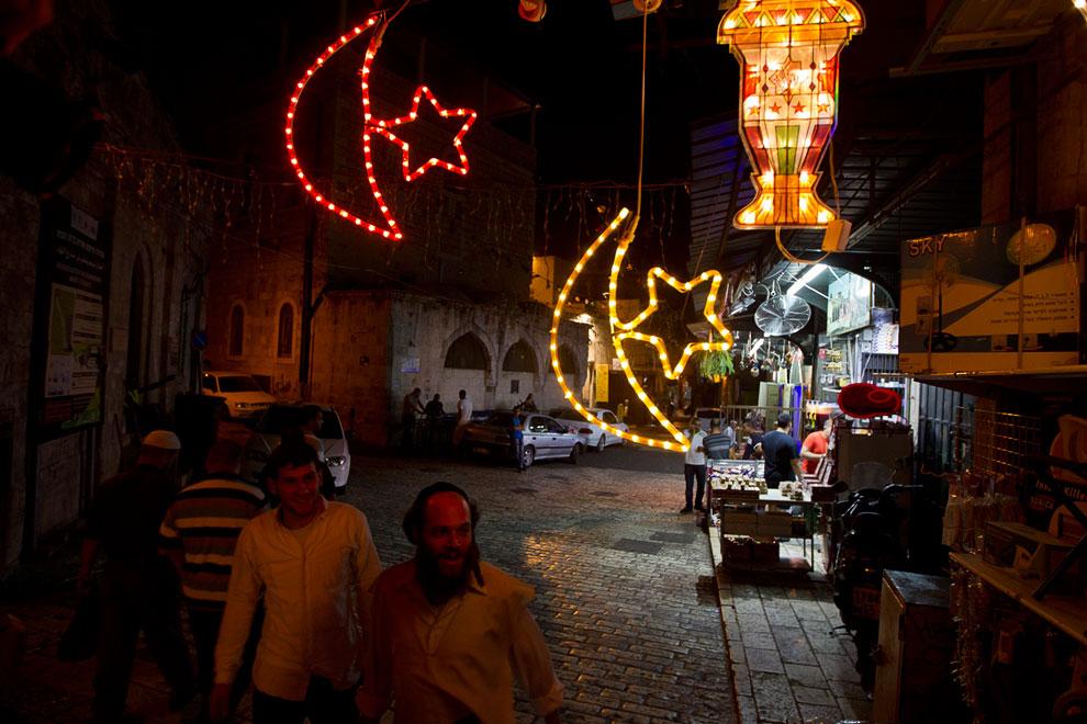 На улицах Иерусалима в преддверии Рамадана 2013