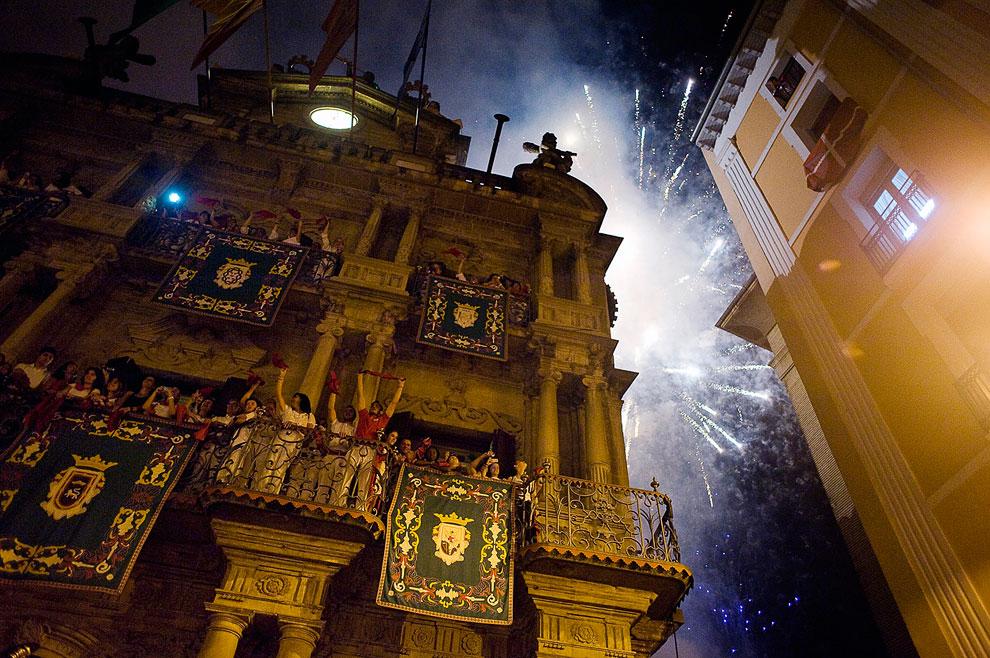 Испанский фестиваль Сан Фермин 2013