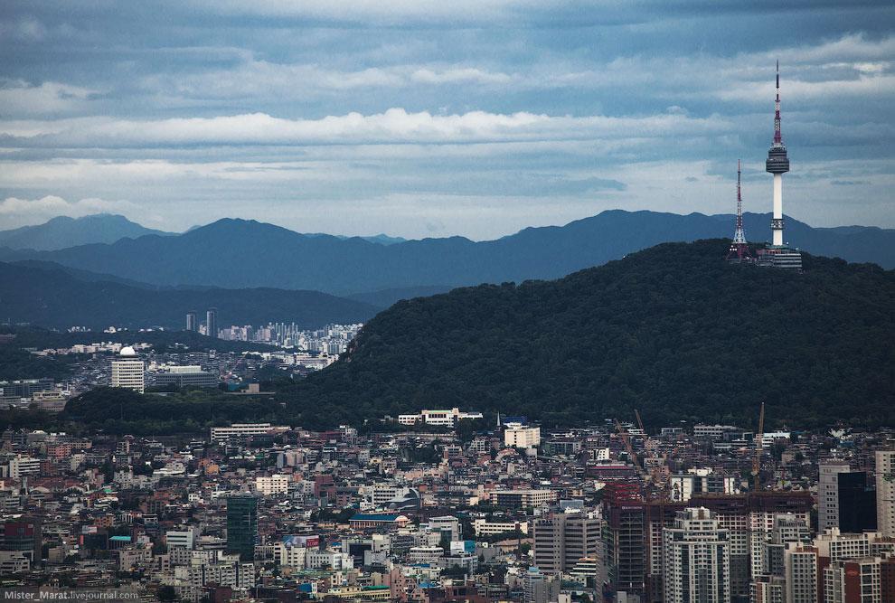 Прогулка по Сеулу
