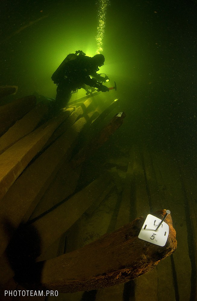 Останки затонувшего корабля