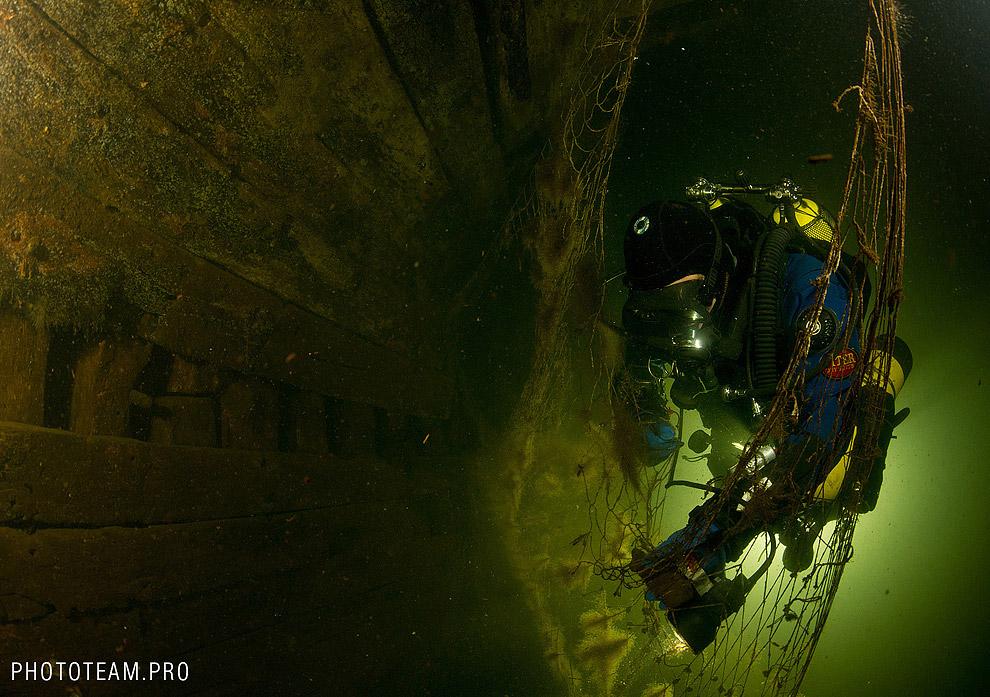 Затонувший корабль «Луиза»