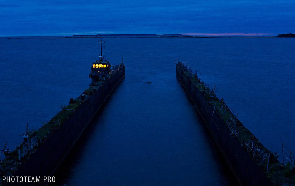Остров Мощный в Финском заливе