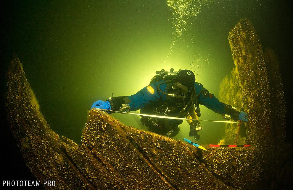 И подводное кладбище кораблей