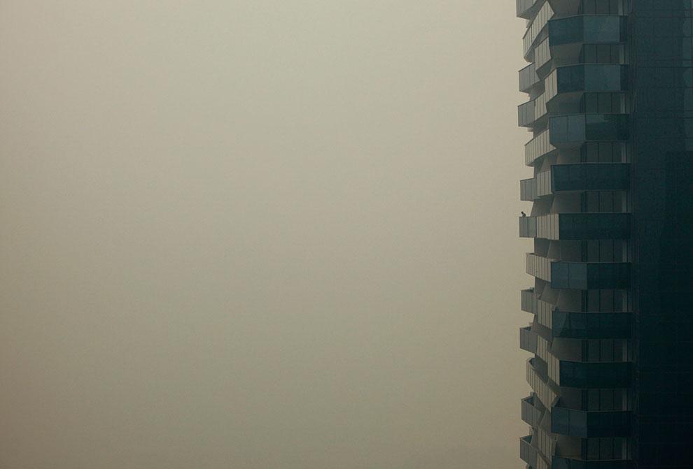 Сильнейший смог в Сингапуре от пожаров в Индонезии