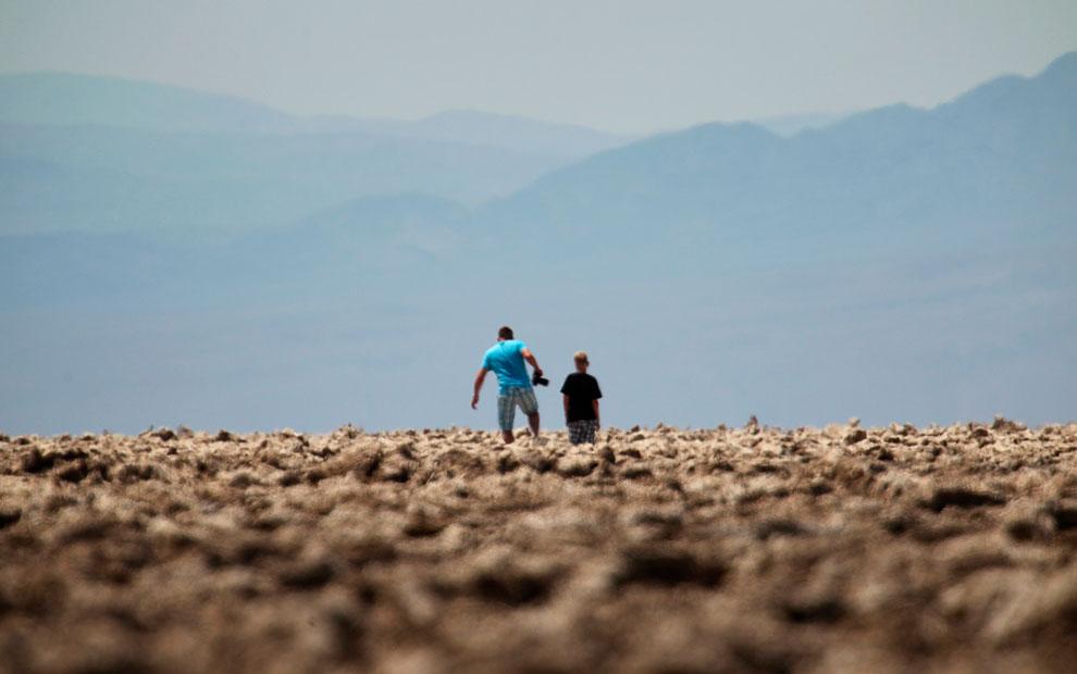 Еще один кадр из Национального парка Долина Смерти в Калифорнии