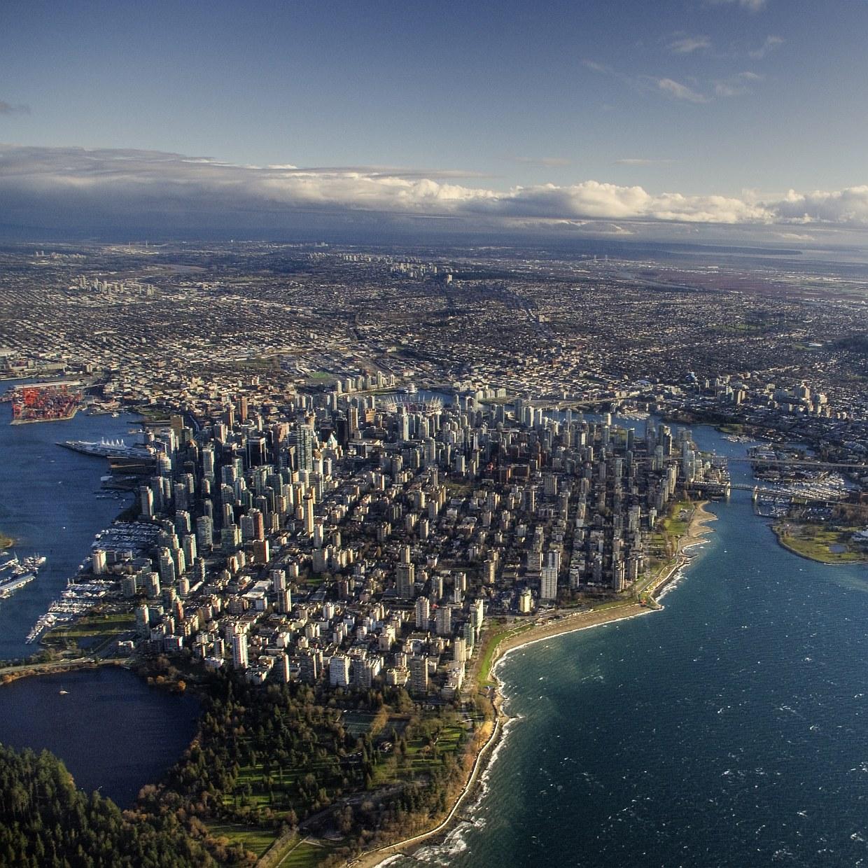 Ванкувер — город на западном побережье Канады