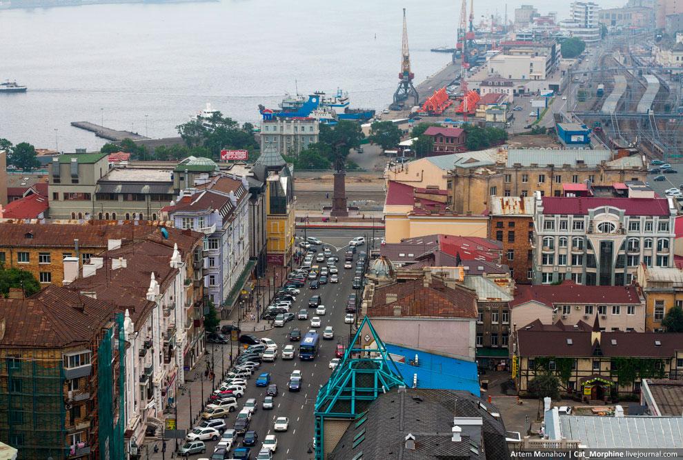 Владивосток с высоты