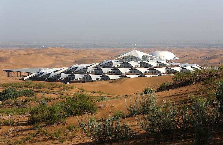 Необычный отель Песчаный Лотос